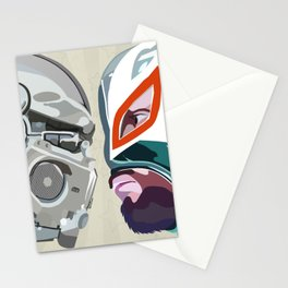 Robots vs. Wrestlers: The Best Tradition Ever Stationery Cards