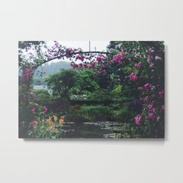 Under the Archway Metal Print