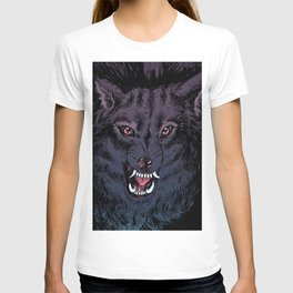 Wolf Howl Sketch T-shirt