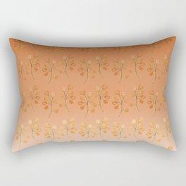 """""""Cactus flowers in soft orange"""" Rectangular Pillow"""