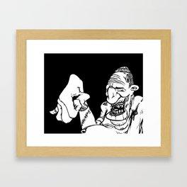 All washed up Framed Art Print