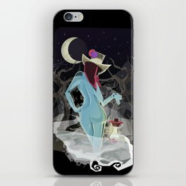 Welcome To The Darkness iPhone Skin
