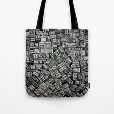 Letters, Letters, Letters Tote Bag