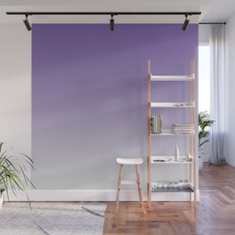 Lavender to White Wall Mural