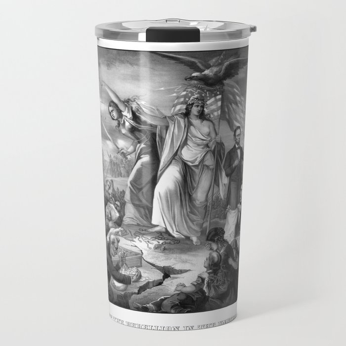 The Outbreak Of Rebellion In The United States 1861 Travel Mug