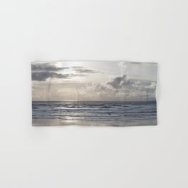 Silver Scene Hand & Bath Towel