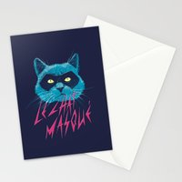 Le Chat Masqué Stationery Cards