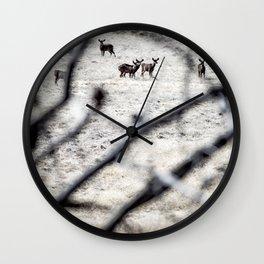 THE HERD Wall Clock
