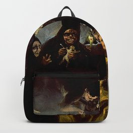 THE WITCHES SPELL - FRANCISCO GOYA Backpack