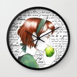 Jo March - Little Women Wall Clock