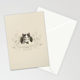 ROMANTIC KITTY  Stationery Cards