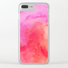 Colorful Sky Pinky & MORE Clear iPhone Case