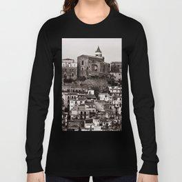 "Urban Landscape of Sicily ""VACANCY"" zine Long Sleeve T-shirt"