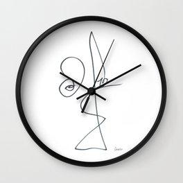 Demeter Moji d19 3-2 w Wall Clock