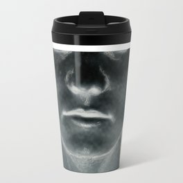 My head is a dark room, where I develop negatives. Metal Travel Mug