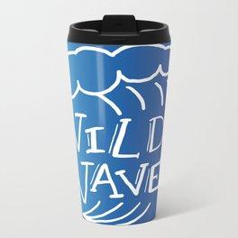 Wild Wave Metal Travel Mug
