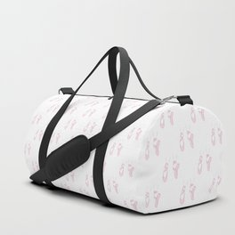 Pink Pointe shoes Duffle Bag