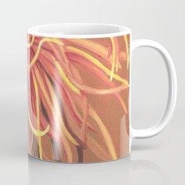 Big Orange Pop Art Chrysthanthemum Coffee Mug