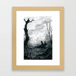 The Spirit Lives On Framed Art Print