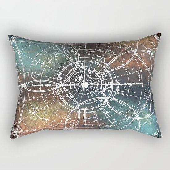 Star Map Rectangular Pillow