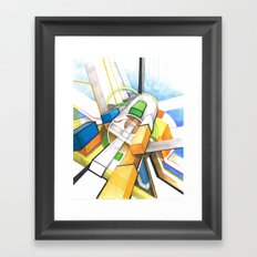 geometry Framed Art Print