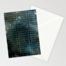 Weathered Grid Stationery Cards