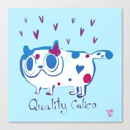 Quality Calico Canvas Print