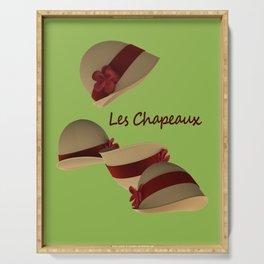Les Chapeaux Serving Tray