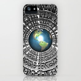 No World Government iPhone Case