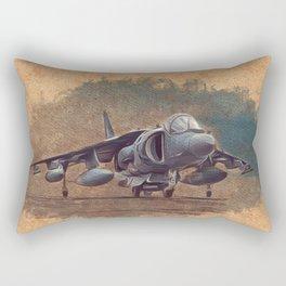Harrier Jumpjet Rectangular Pillow