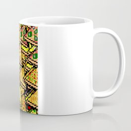 Pixel Pizza Array Coffee Mug