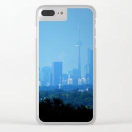 Toronto Haze Clear iPhone Case