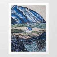 Nestled Home Art Print