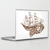 moby Laptop & iPad Skins featuring Moby by Lindsey Caneso