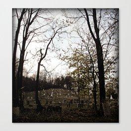 Spooky town Canvas Print