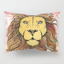 King The Lion Pillow Sham