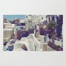 Streets of Santorini III Rug