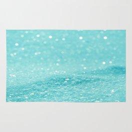 Glitter Turquoise Rug