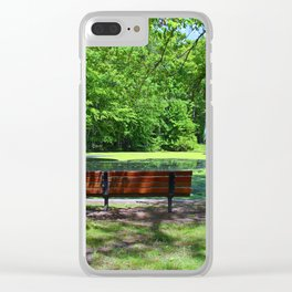 Afternoon Lullaby Clear iPhone Case