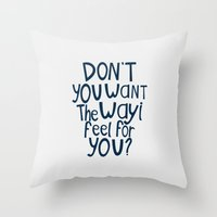 darren criss Throw Pillows featuring Darren Criss - Don't You? by Jessica