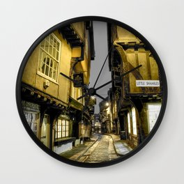 Little Shambles, York Wall Clock