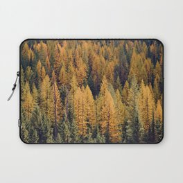 Autumn Tamarack Pine Trees Laptop Sleeve