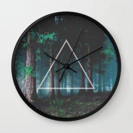 Forest of Wisdom Wall Clock