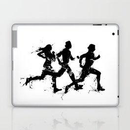Runners in ink Laptop & iPad Skin