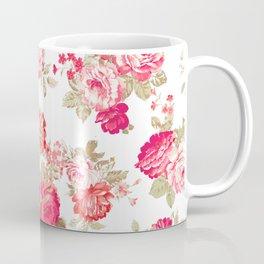 Elise shabby chic on white Coffee Mug