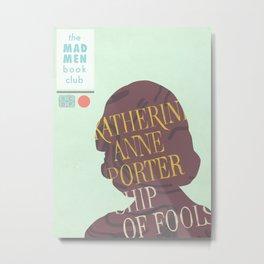 Book Club-Betty Metal Print