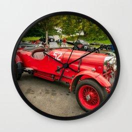 Vintage Motors Wall Clock
