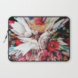 Floral Glitch II Laptop Sleeve