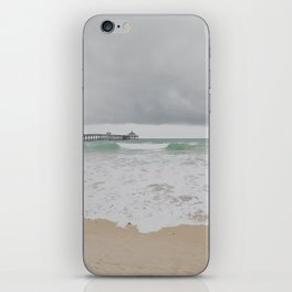 Storm Clouds Over the Sea iPhone Skin