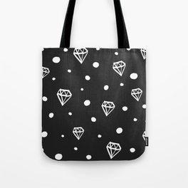Raining Diamonds Tote Bag
